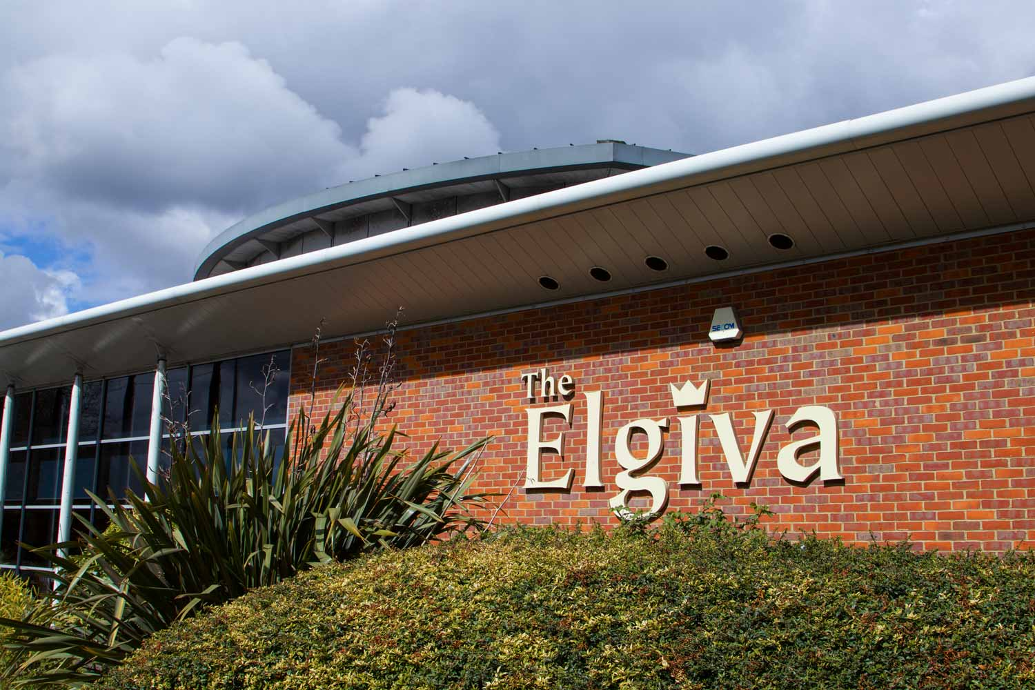 The Elgiva Theatre frontage
