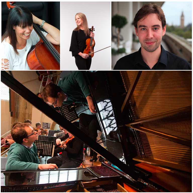 English Sinfonia in residence at the Elgiva
