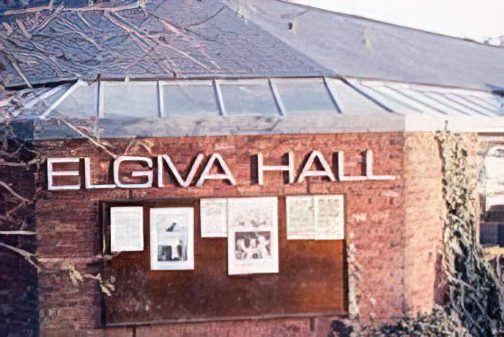 The original Elgiva Hall
