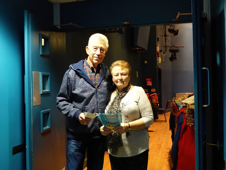 Syliva and Roy – volunteer ushers