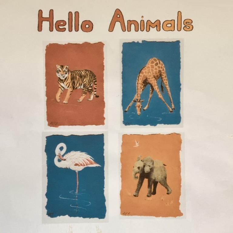 Hello Animals exhibition